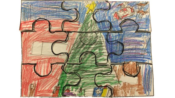 holiday jigsaw puzzle